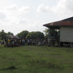 clinic day crowds honduran